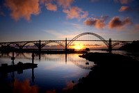 Pastel Yaquina Bay Bridge