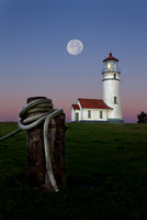 """Twilight"" - Cape Blanco Lighthouse"