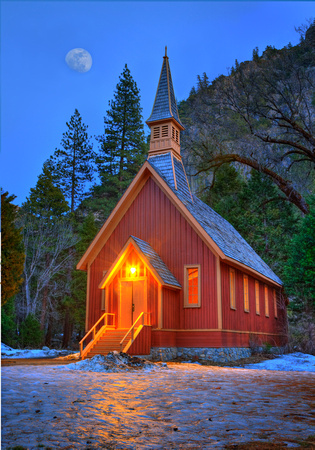 Oregon Coast Photography Yosemite Yosemite Chapel