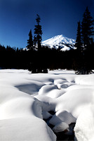 Mt. Bachelor in Snow